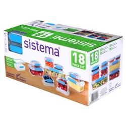 Sistema Food Storage Set - 18ct