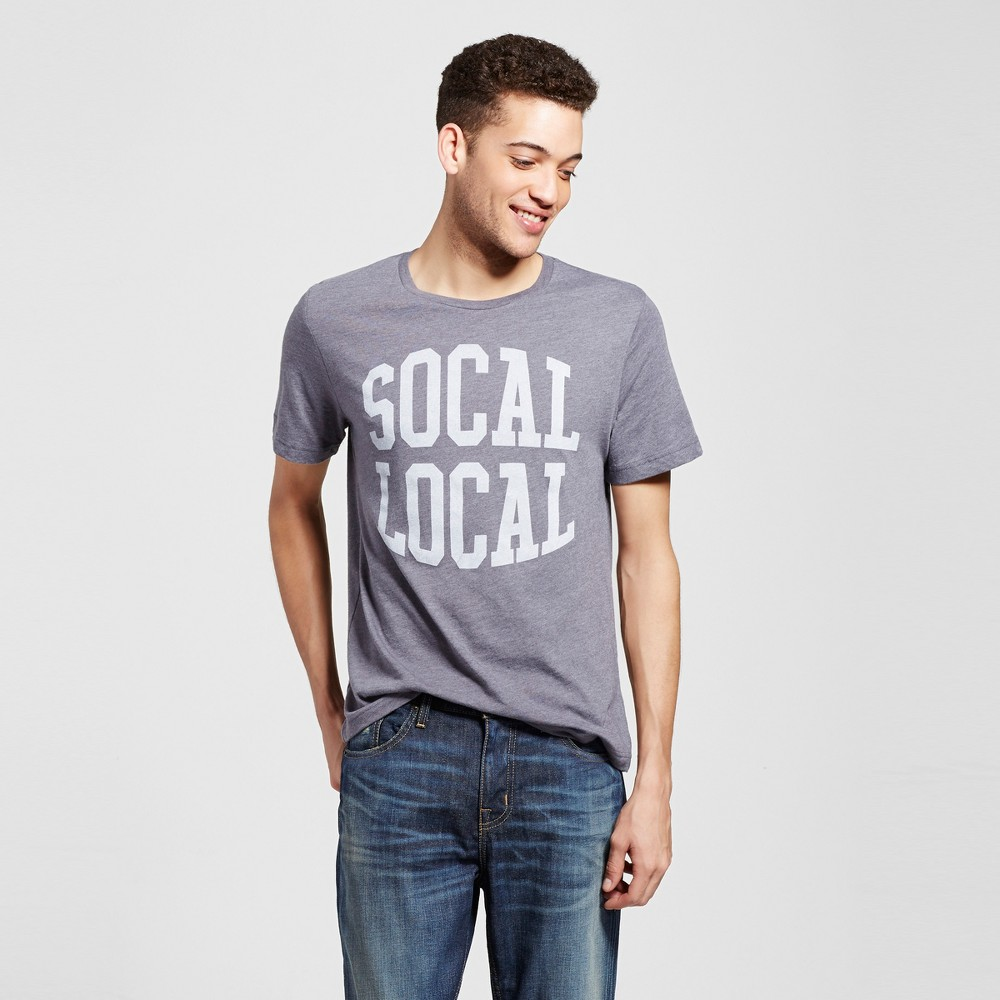 Mens Los Angeles SoCal Local T-Shirt M - Charcoal Gray