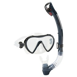 Speedo Adult Expedition Snorkel Set Combo - 2pc