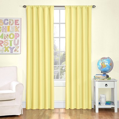Awesome Eclipse Kids Microfiber Blackout Curtain Panel