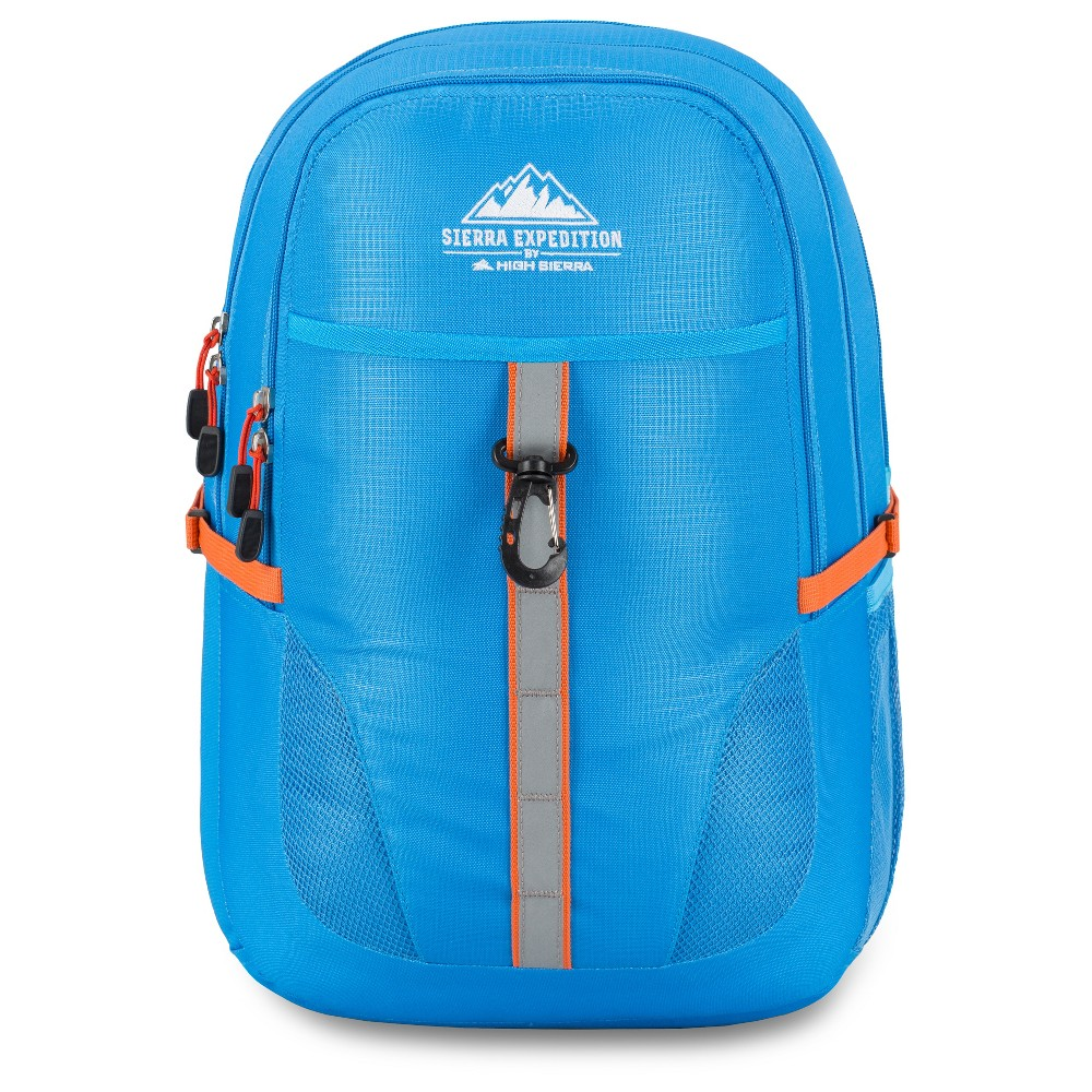 Sierra Expedition Outdoor 19 Backpack - Blue/Orange, Sky Blue