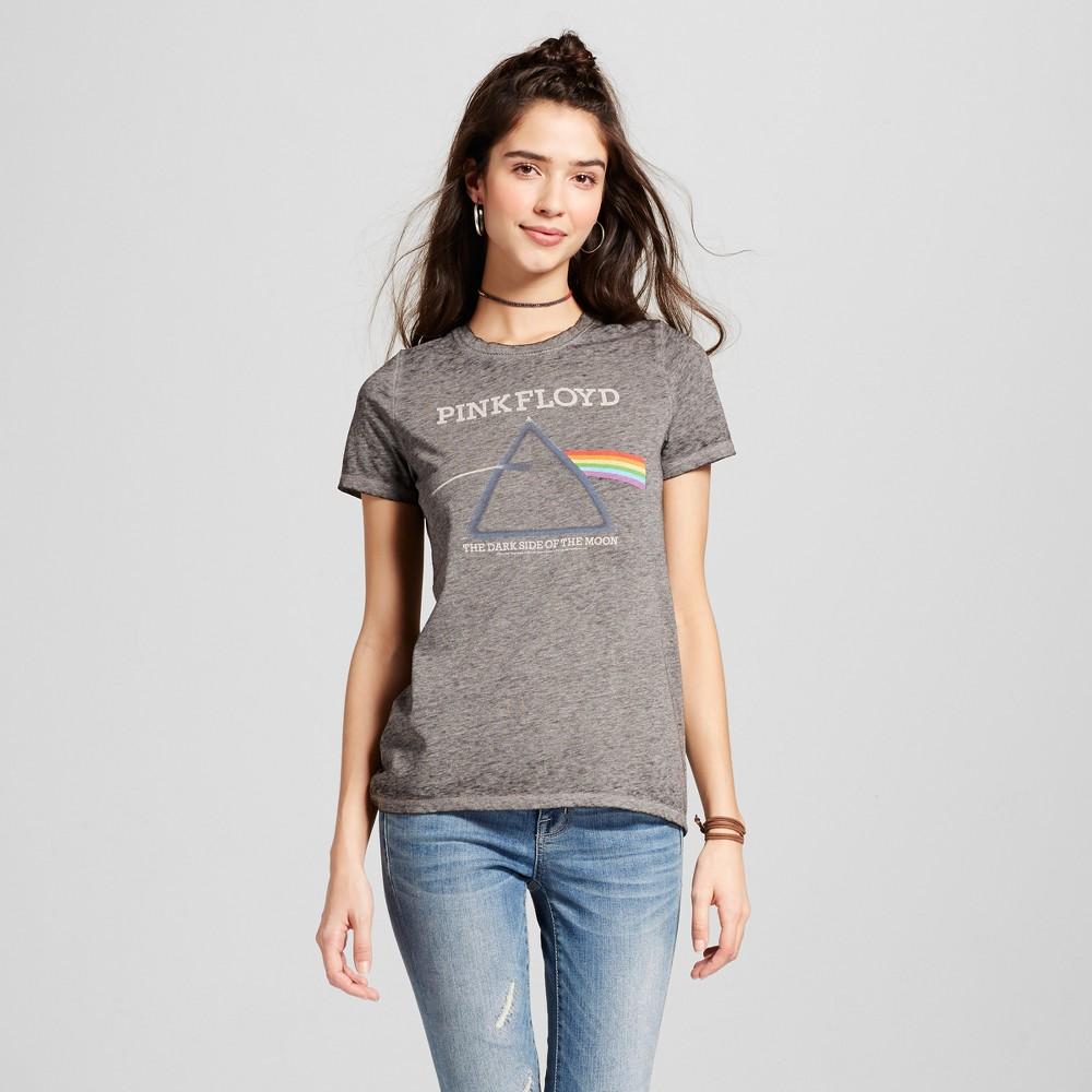 Womens Pink Floyd Graphic T-Shirt Black M (Juniors), Gray