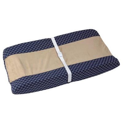 Sadie & Scout ® - Hampton - Navy Geo Baby Changing Pad Cover