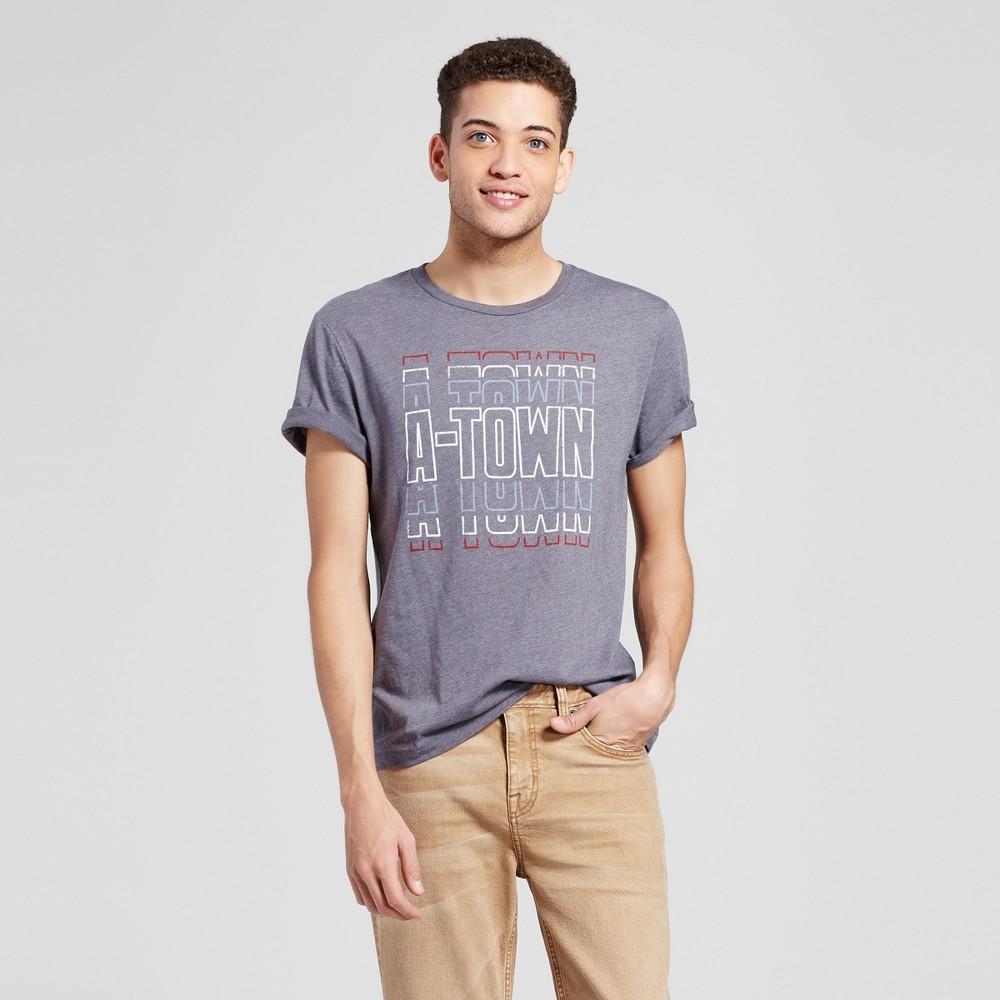 Mens Atlanta A Town Swagger T-Shirt XL - Charcoal Gray