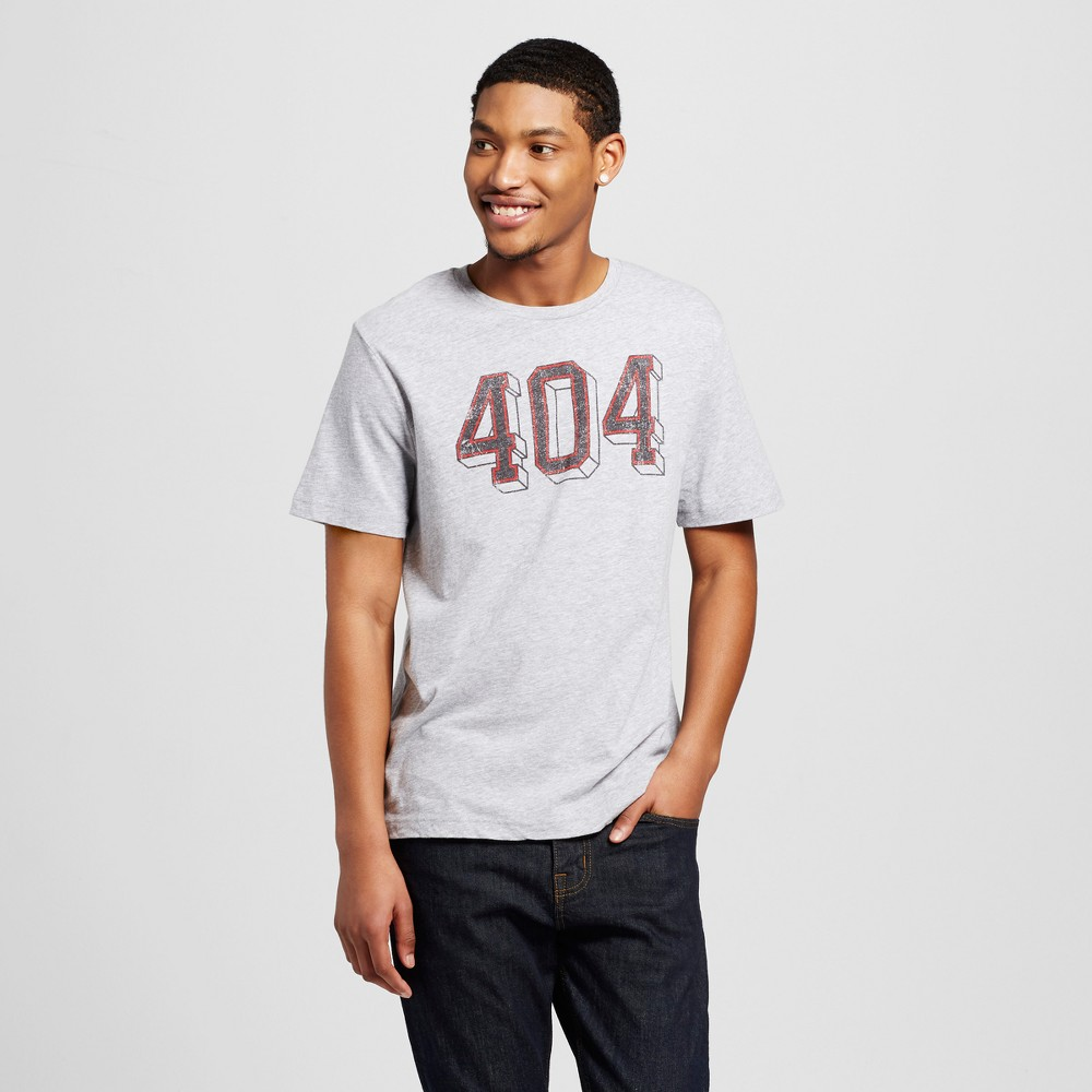Mens Atlanta 404 T-Shirt Xxl - Heather Gray