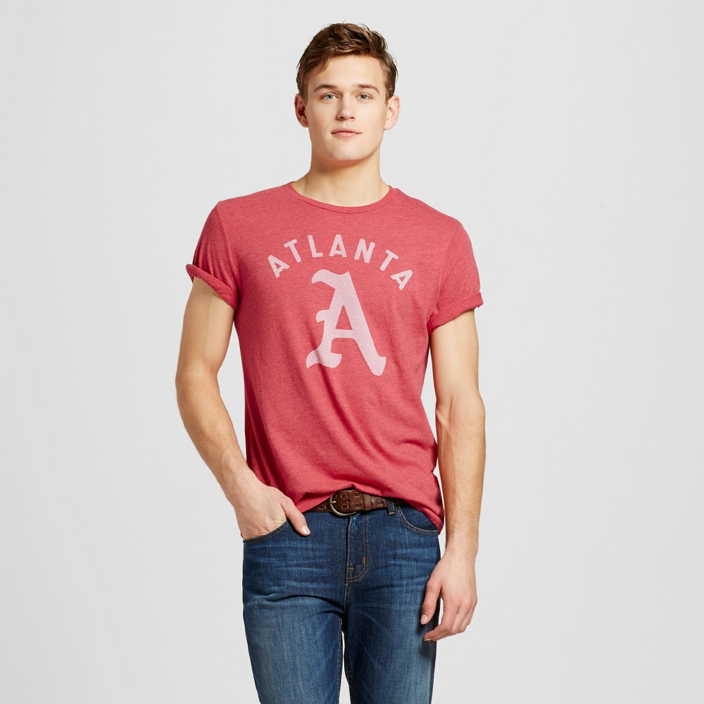 Mens Atlanta Gothic A T-Shirt XL - Red
