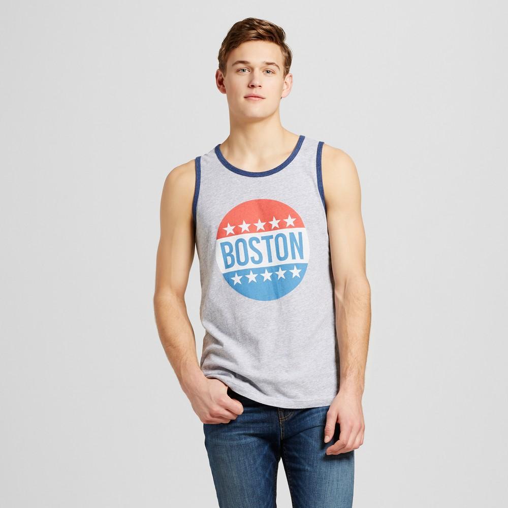 Mens Boston All American Tank XL - Heather Gray