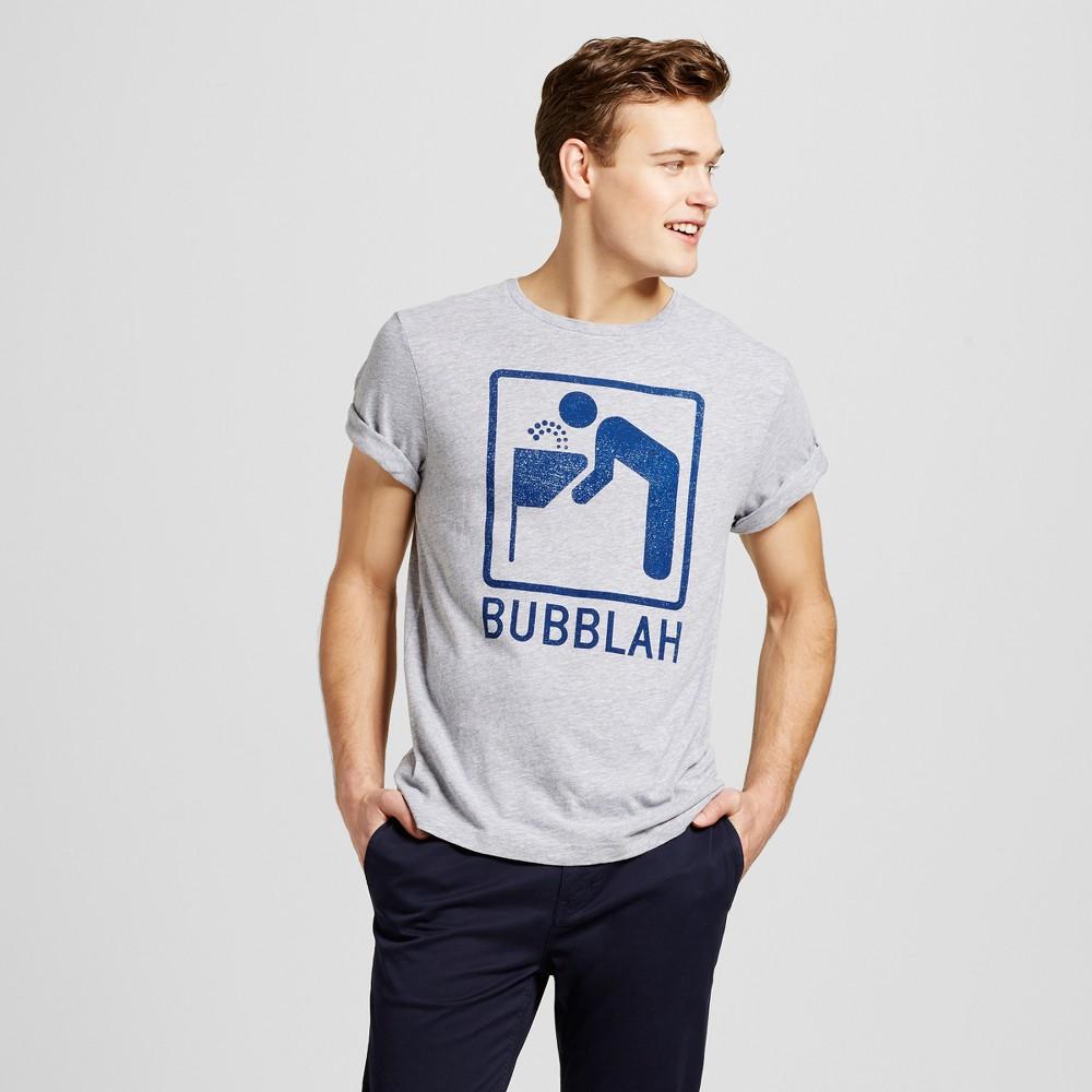 Mens Boston Bubbllah T-Shirt XL - Heather Gray