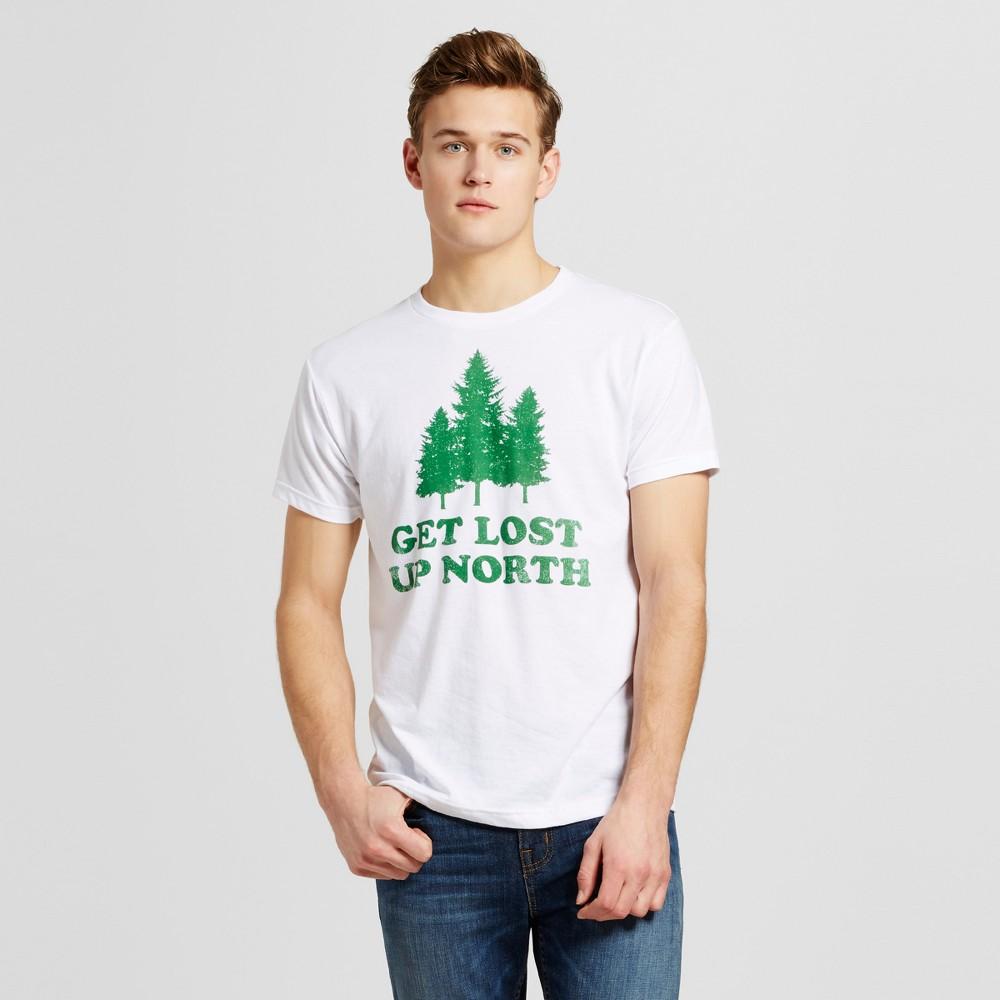 Mens Minneapolis Get Lost T-Shirt XL - White