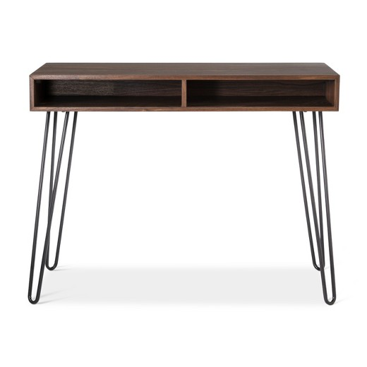Hairpin Desk Walnut