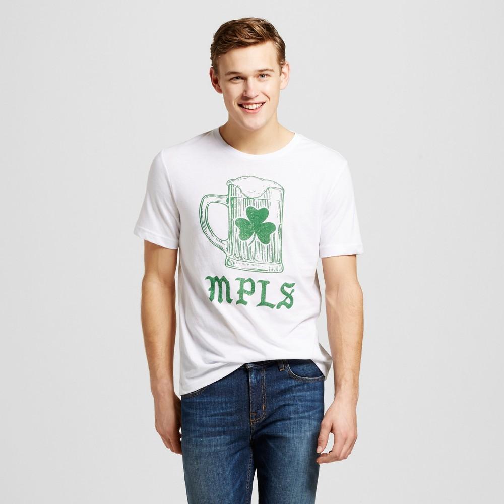 Mens Minneapolis Mpls Mug T-Shirt M - White