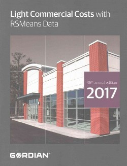 Light Commercial Costs With Rsmeans Data : 2017 (Paperback)