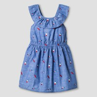 Toddler Girls' A Line Popsicle Print Dress Cat & Jack - Chambray. opens in a new tab.