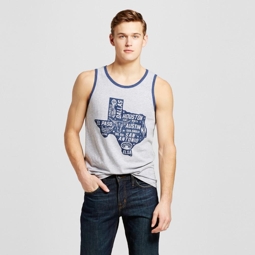 Mens Texas Statewide Tank Xxl - Heather Gray