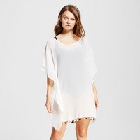 Women's Cover Up with Pom Details - Xhilaration. opens in a new tab.