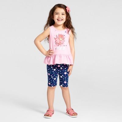 Toddler Girls' PJ Masks® Owlette Top And Bottom Set Pink 4T