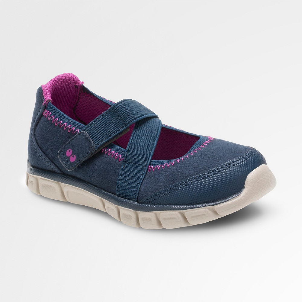 Toddler Girls Syd Navy (Blue) Athletic Mary Jane Navy 7 - Surprize by Stride Rite