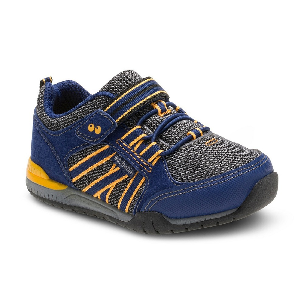 Toddler Boys Surprize by Stride Rite Davon Sneakers - Navy (Blue) 12