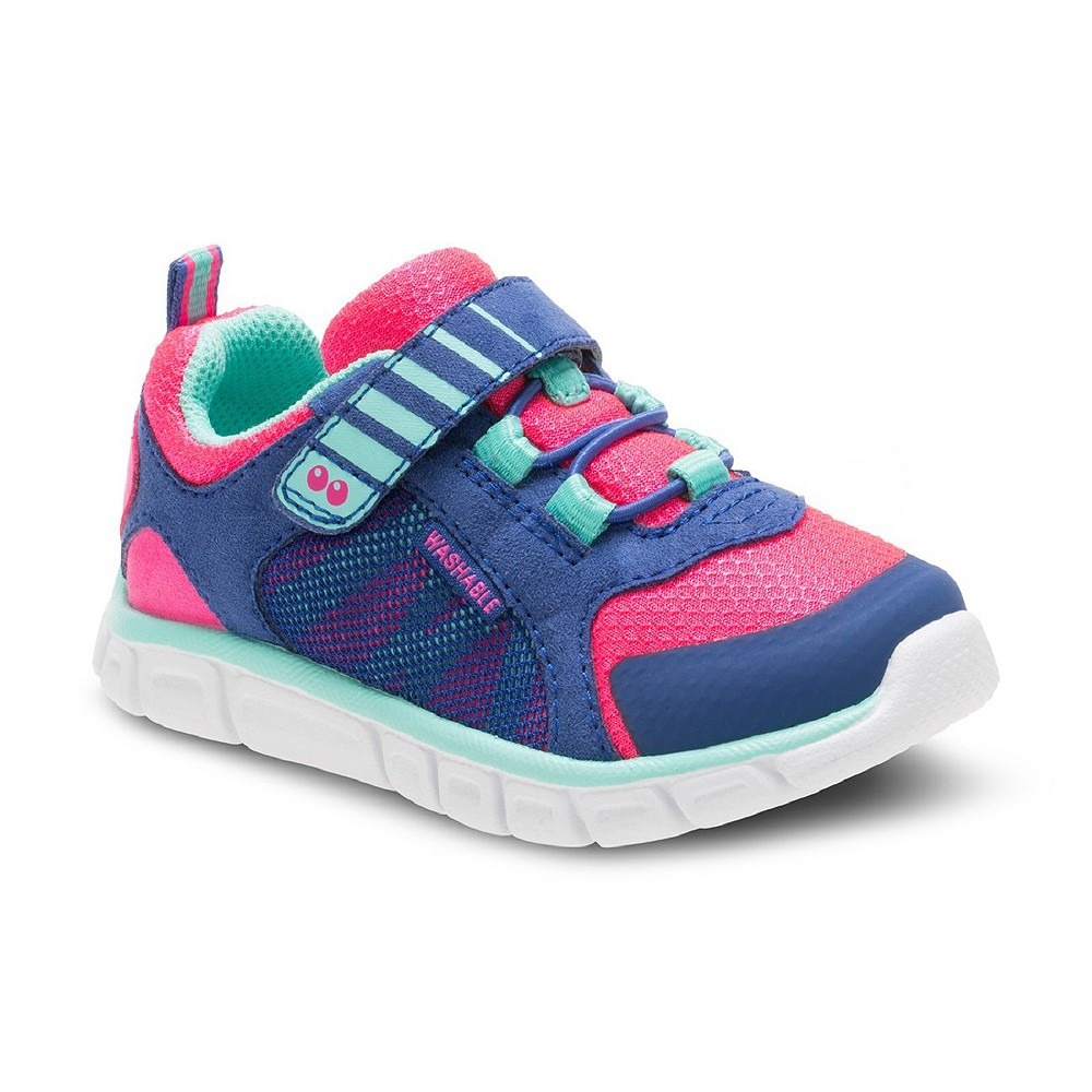 Toddler Girls Surprize by Stride Rite Charity Performance Athletic Shoes 5 - Blue, Blue Pink