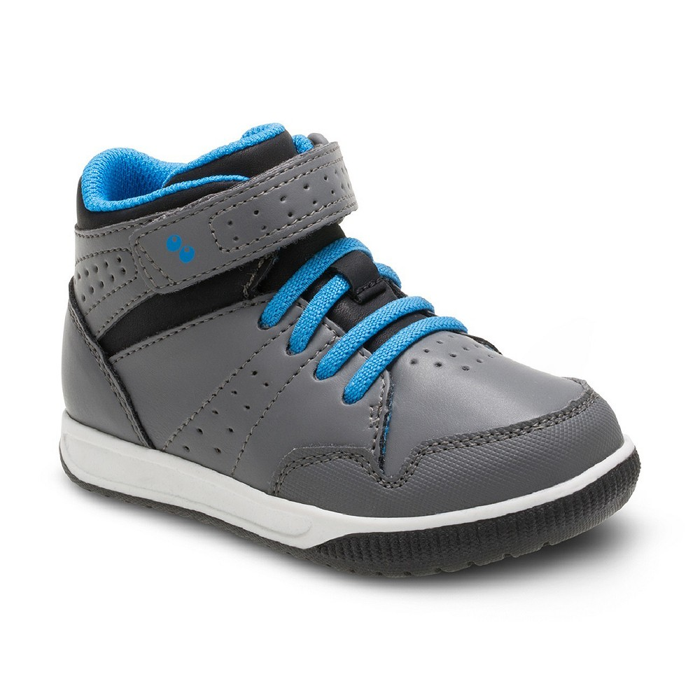 Toddler Boys Surprize by Stride Rite Damarian High Top Sneakers - Gray 10