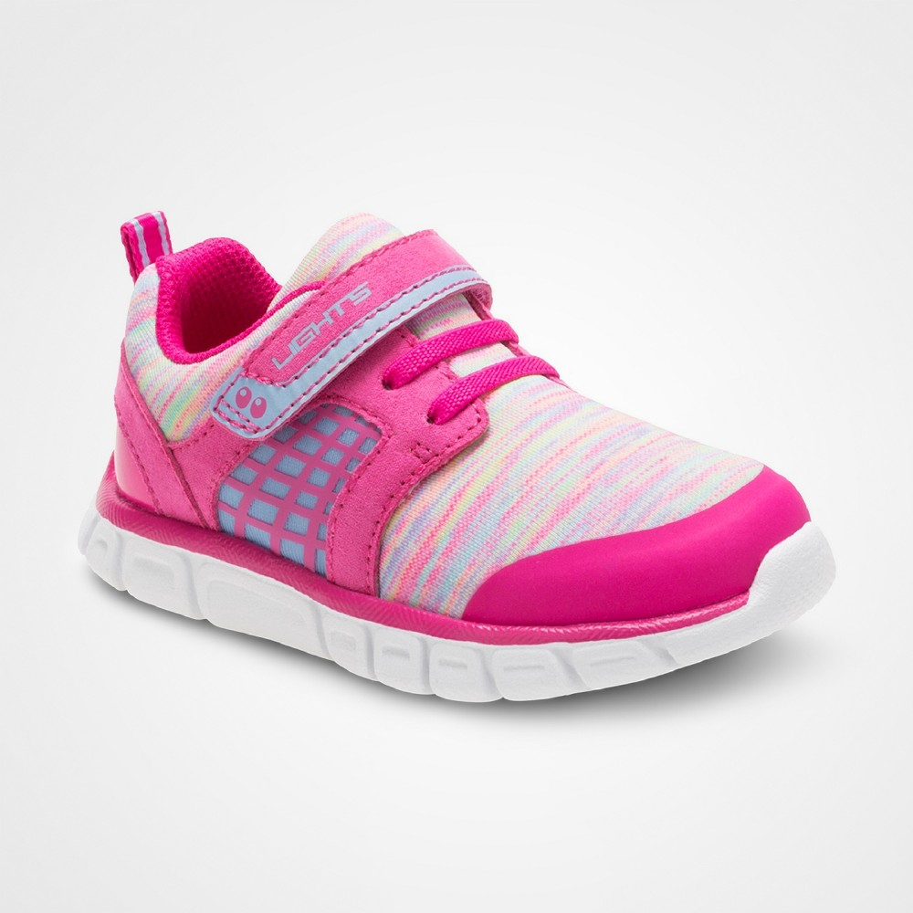 Toddler Girls Clarissa Performance Athletic Shoes Pink 7 - Surprize by Stride Rite