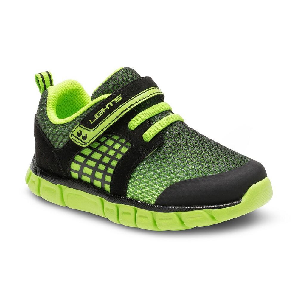 Toddler Boys Surprize by Stride Rite Darwin Sneakers - Black 12, Black Green