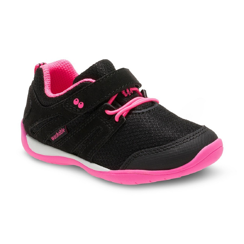 Toddler Girls Surprize by Stride Rite Corin Performance Athletic Shoes Black 6