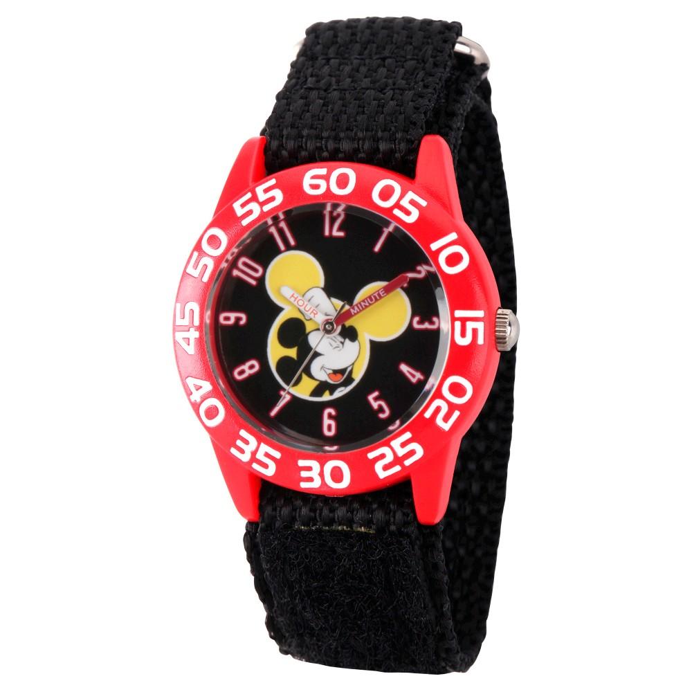 Disney Mickey Mouse Kids Watch - Black, Boys