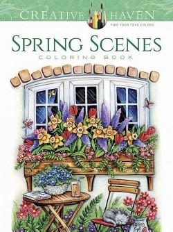 Spring Scenes (Paperback) (Teresa Goodridge)