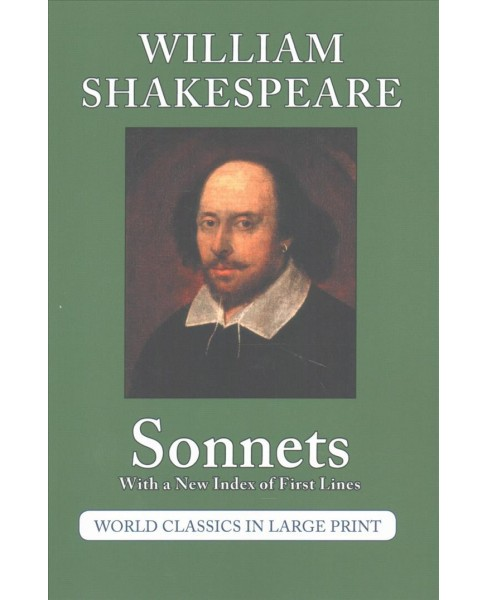 Sonnets of William Shakespeare (Paperback) - image 1 of 1