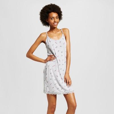Xhilaration long sleeve tissue sleep tee dress
