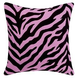 Zebra Print Throw Pillow - Karin Maki®