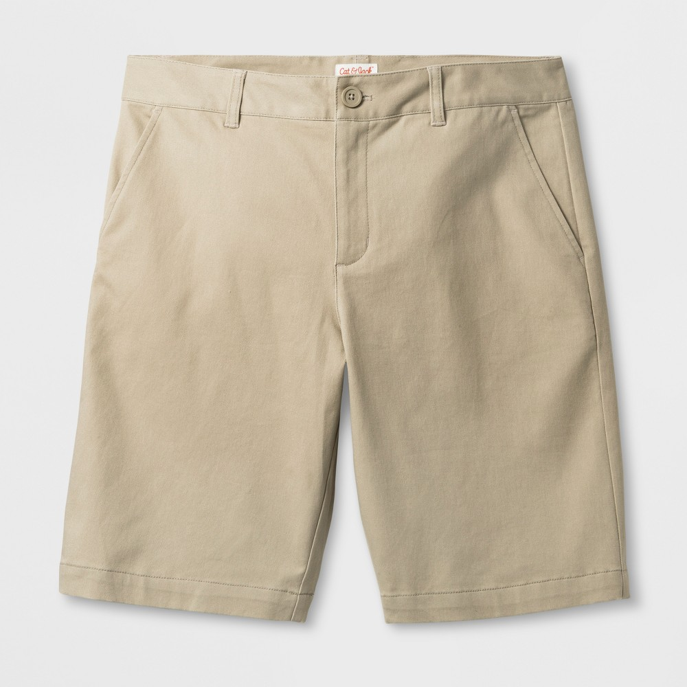 Juniors Bermuda Shorts - Cat & Jack Pita Bread 15, Girls