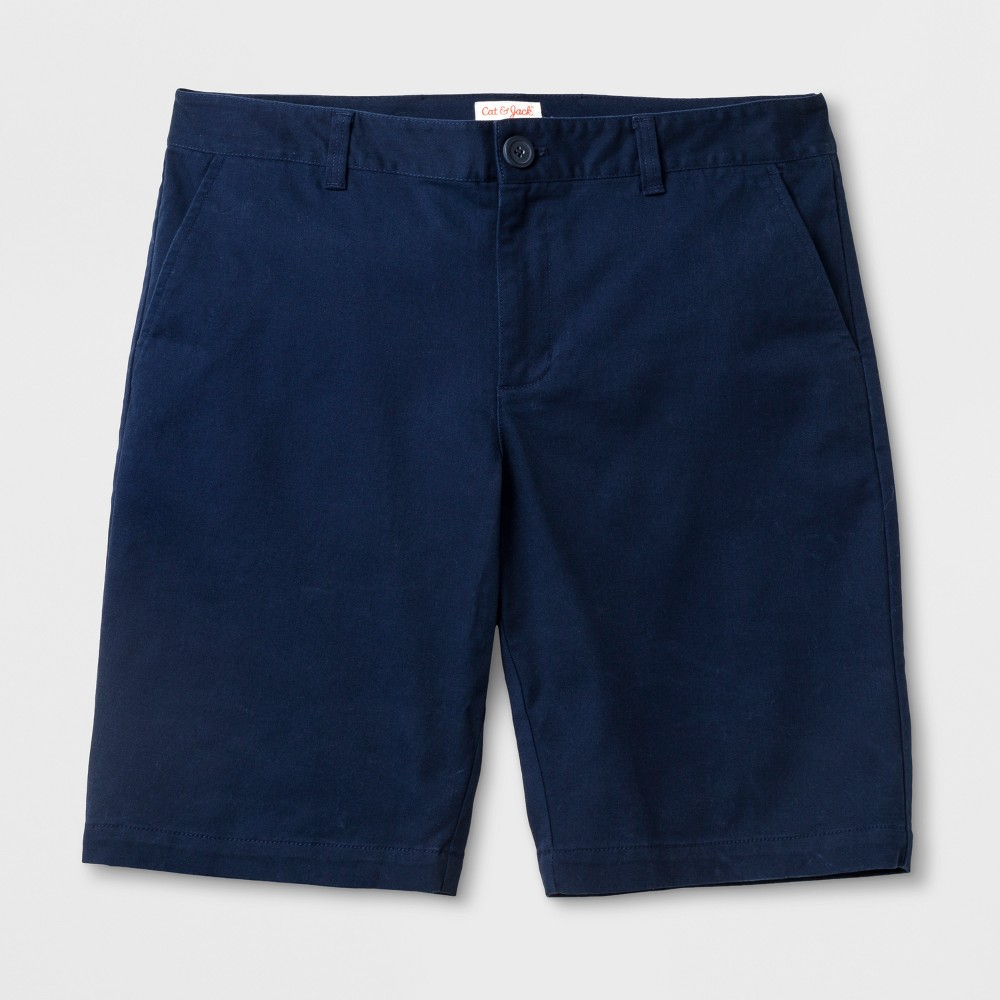 Juniors Bermuda Shorts - Cat & Jack Navy (Blue) 15, Girls