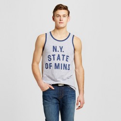 Men's New York State of Mind Tank - Heather Gray
