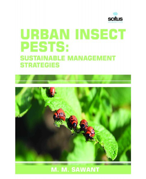 Urban Insect Pests : Sustainable Management Strategies (Hardcover) - image 1 of 1