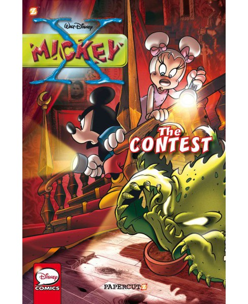 X-Mickey : The Contest (Vol 2) (Hardcover) (Stefano Ambrosio) - image 1 of 1
