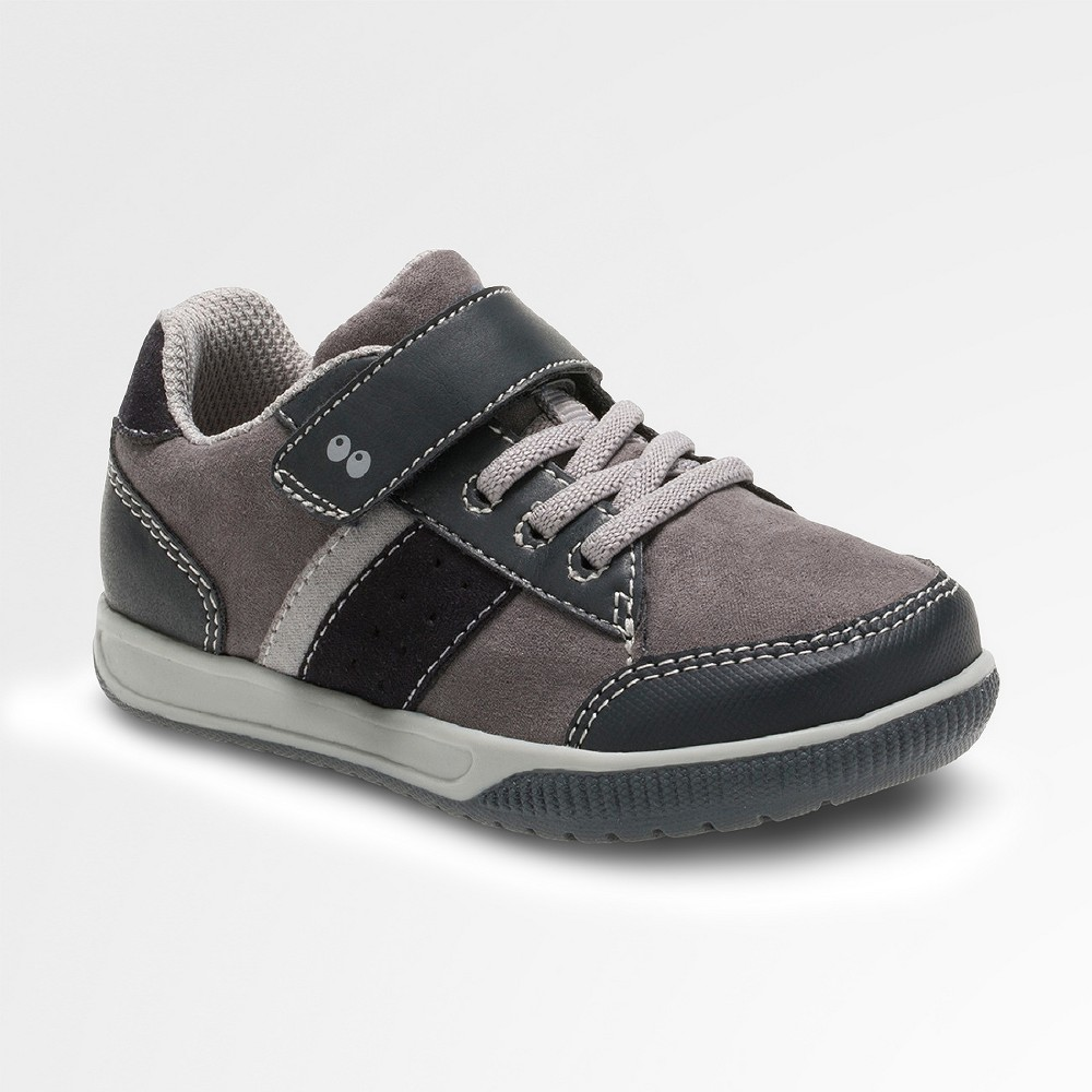 Toddler Boys Surprize by Stride Rite Darrell Sneakers - Black/Gray - 12
