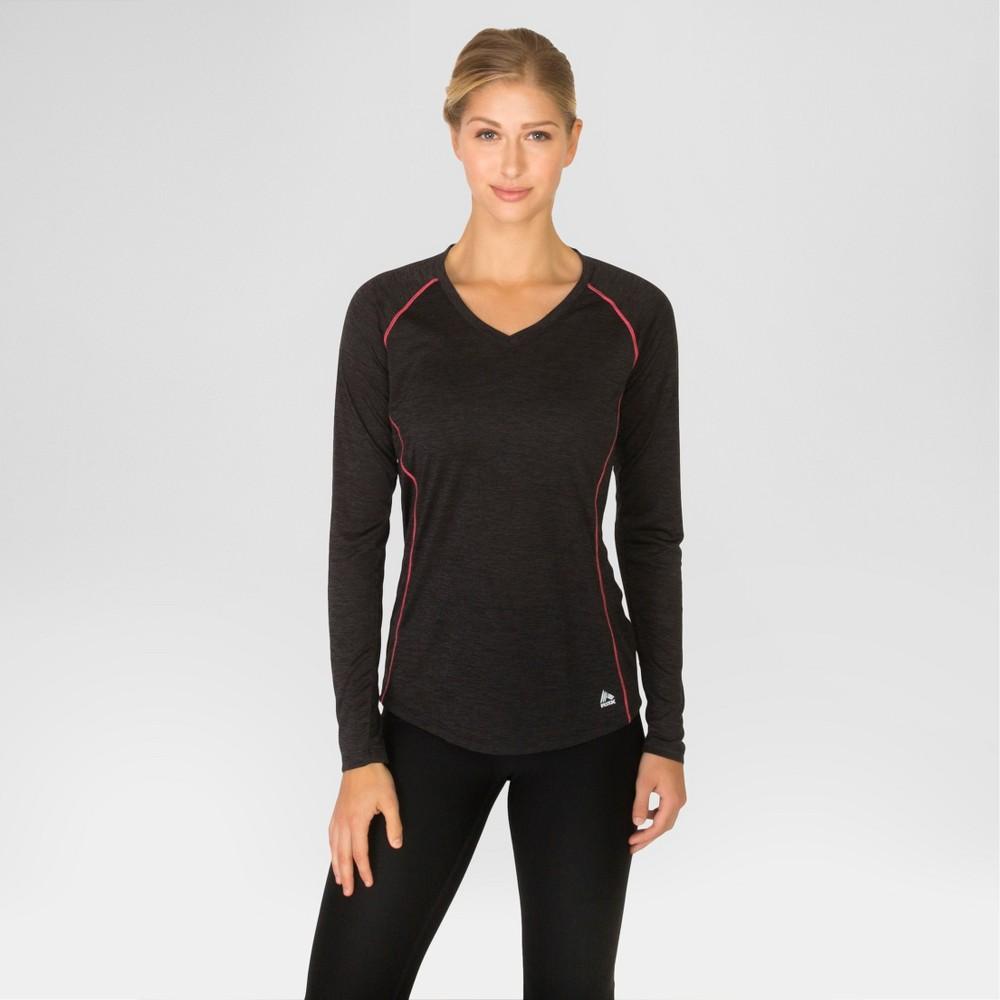 Women's Long Sleeve Spacedye Jersey - Black S - Rbx
