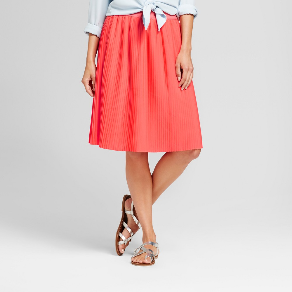 Women's A Line Skirts - Merona Bright Coral XS Find Skirts at Target.com! Women's A Line Skirts - Merona Bright Coral XS Gender: Female. Age Group: Adult. Pattern: Solid. Material: Polyester.