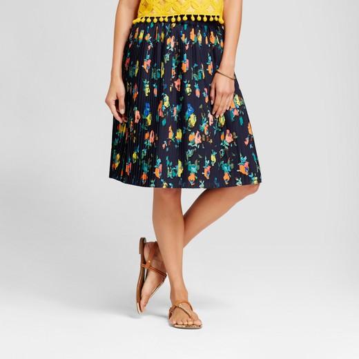 Women's floral pleated skirt - Merona™ : Target