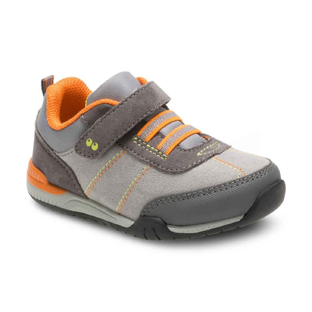 Toddler Boys Surprize by Stride Rite Davidson Sneakers - Gray 5