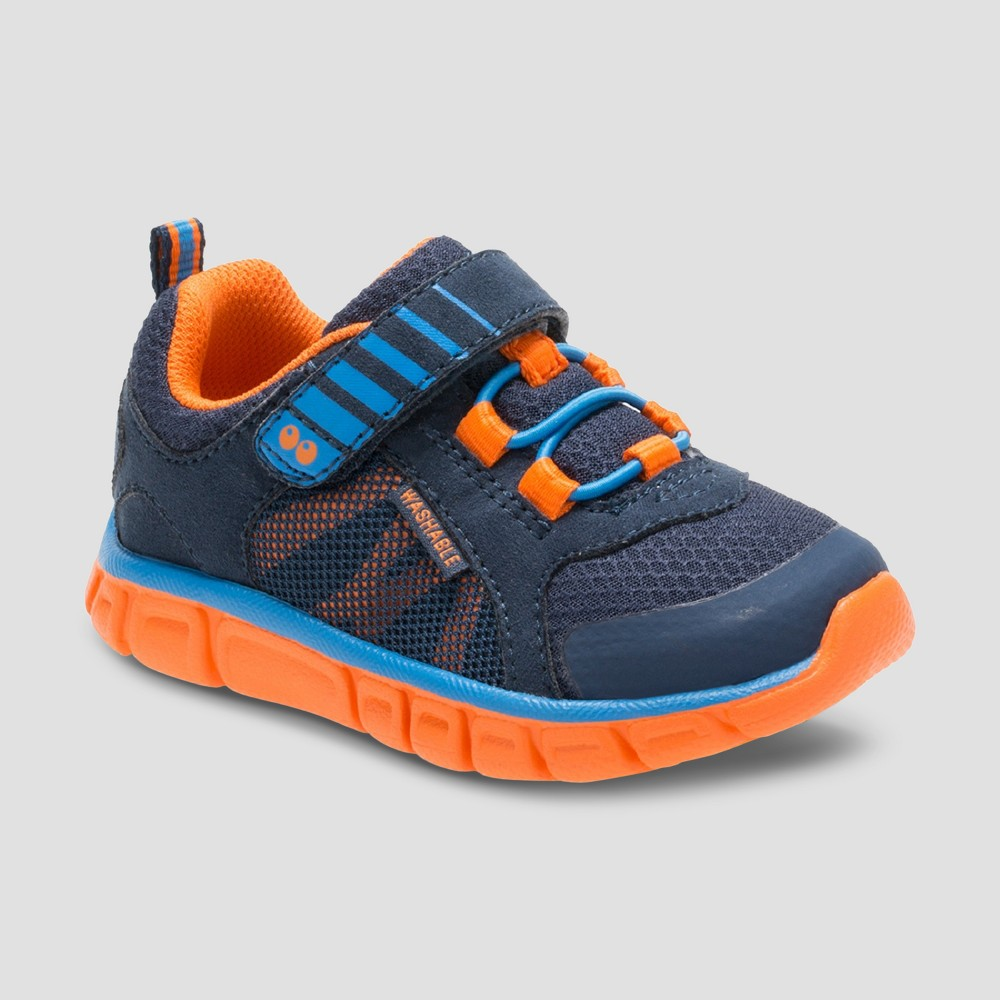 Toddler Boys Surprize by Stride Rite Dario Sneakers - Navy 4, Blue