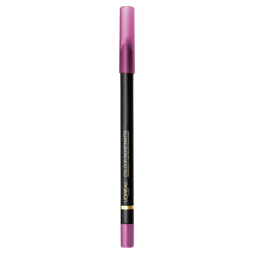 L'Oreal Paris Colour Riche Matte Lip Liner 106 Strike A Matte-ch - 0.01oz