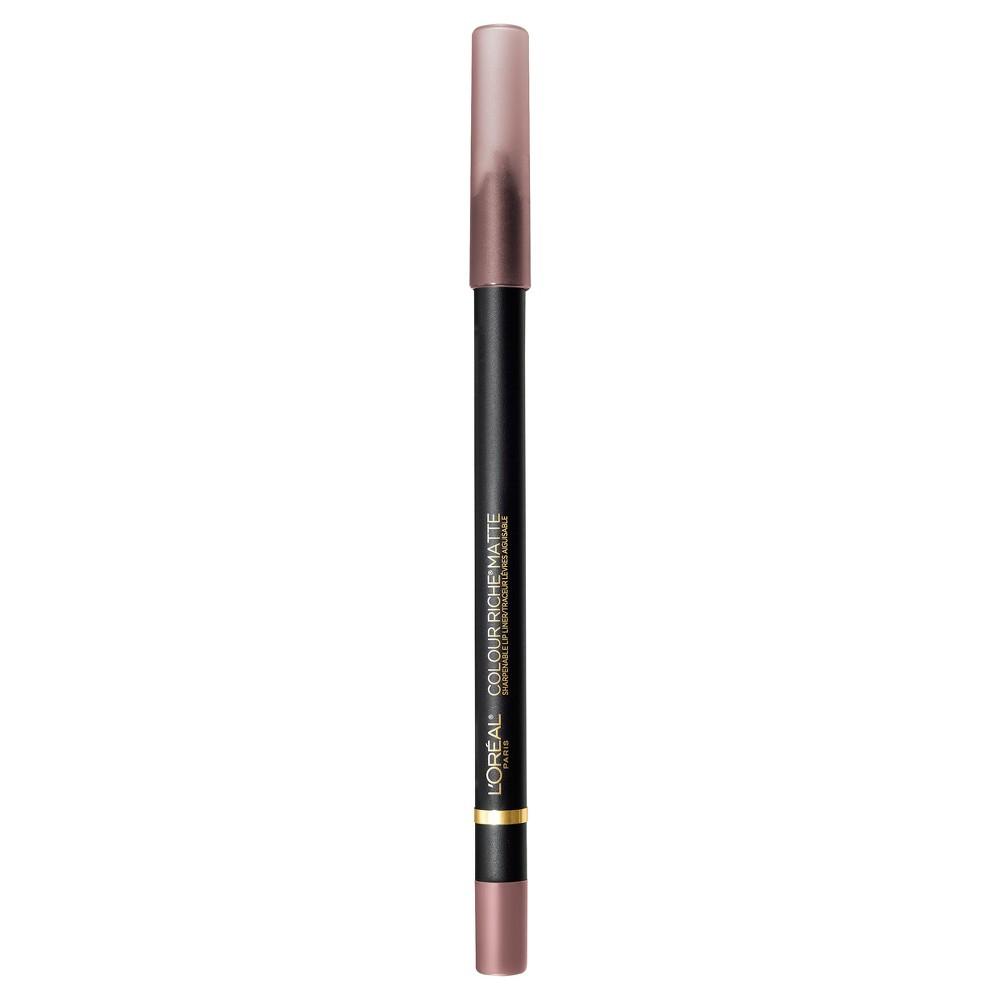 L'Oreal Paris Colour Riche Matte Lip Liner 110 Matte's It - 0.01oz