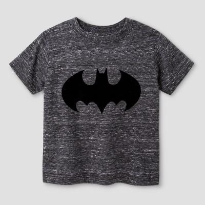 Toddler Boys' Batman T-Shirt Gray - 12M