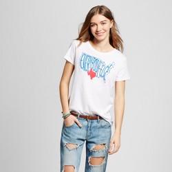 Women's Texas Everybody Else T-Shirt - White (Juniors')