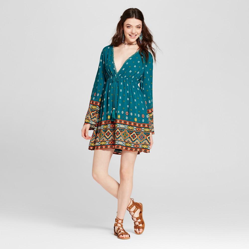 Womens Caftan Dress - Xhilaration (Juniors) Jade (Green) M
