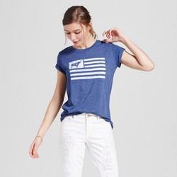 Women's Texas Republic of TX T-Shirt - Navy (Juniors')