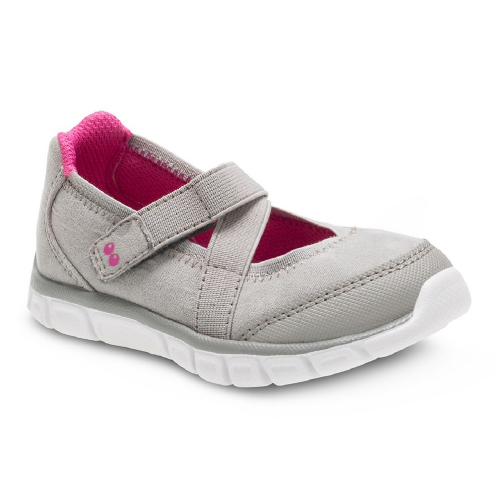 Toddler Girls Surprize by Stride Rite Syd Gray Athletic Mary Jane shoes 12 - Gray